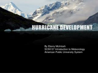 Hurricane Development