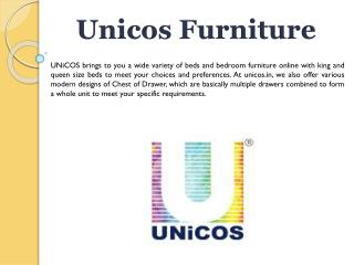 Buy Beds Online India, Hydraulic Beds, Storage Beds, Double Beds Online - UNiCOS