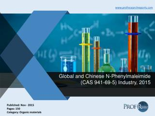 N-Phenylmaleimide Industry Analysis, Market Trends 2015 | Prof Research Reports