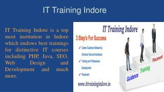 Get Best PHP Training in Indore at IT Training Indore