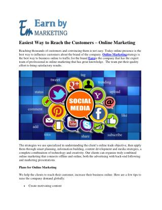 Digital Marketing complete packages in Noida India-EarnbyMarketing.COM