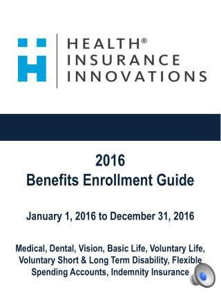 HII Open Enrollment Presentation 2015 - 2016