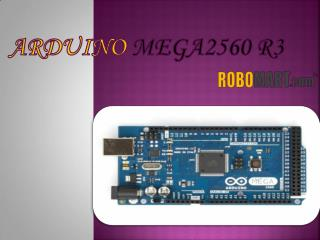 Buy Arduino Mega 2560 R3 By Robomart