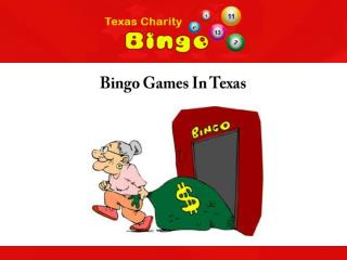 Bingo Games In Texas