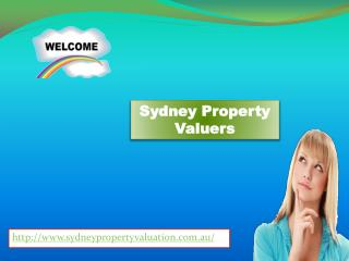 Sydney Property Valuers for property valuation