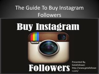 Guide To Buy Instagram Followers