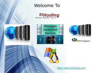 RS Hosting - Cpanel Dedicated Server Hosting