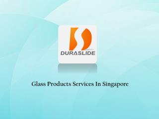 Glass Contractors In Singapore