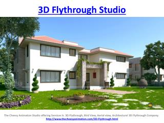 3D Flythrough Studio