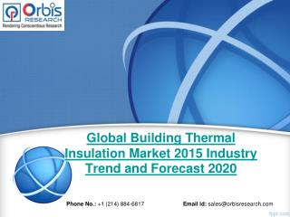 Building Thermal Insulation  Market - Global Market Development Analysis & Industry Overview