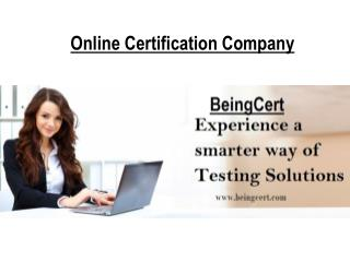 BeingCert : Online Certification Company