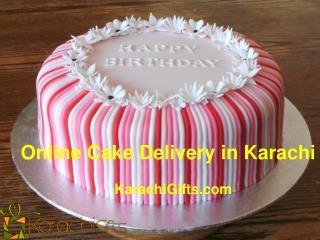 Online Cake Delivery in Karachi