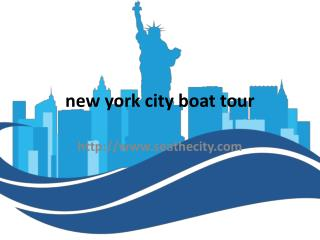 new york city water tour