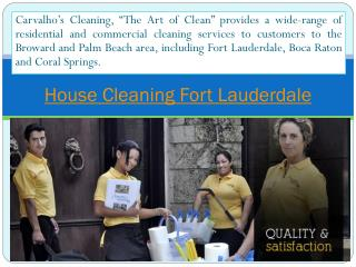 office cleaning Fort Lauderdale