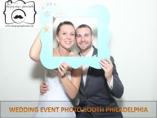 Wedding Event Photo Booth in Philadelphia