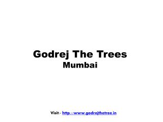 Godrej The Trees Vikhroli Mumbai - New Residential Project
