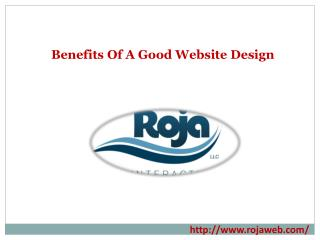 Benefits Of A Good Website Design
