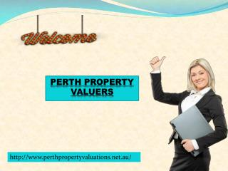 Perth Property Valuers for property valuers