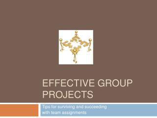 Effective Group Projects