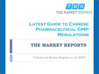 Latest Guide to Chinese Pharmaceutical GMP Regulations