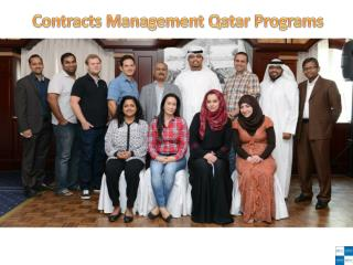 Contracts Management Qatar Programs