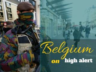 Belgium on high alert