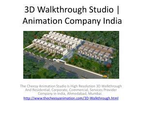 3D Walkthrough Studio | Animation Company India