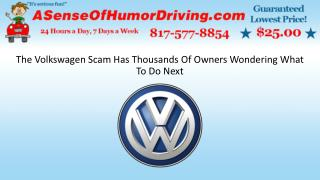 The Volkswagen Scam Has Thousands Of Owners Wondering