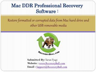 How to recover data from formatted Mac hard drive and other multimedia storage devices