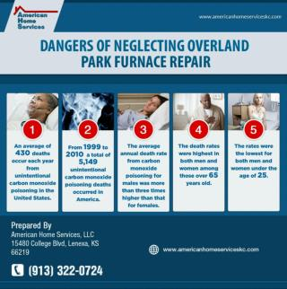 Avoiding Overland Park Furnace Repair Can Be Deadly