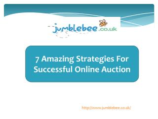 7 Amazing Strategies For Successful Online Auction