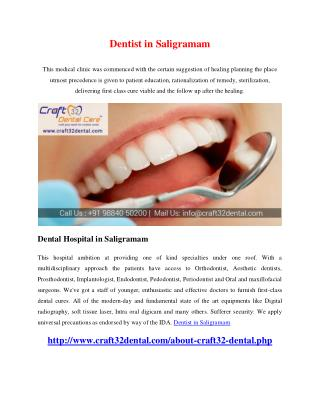 Dentist in Saligramam