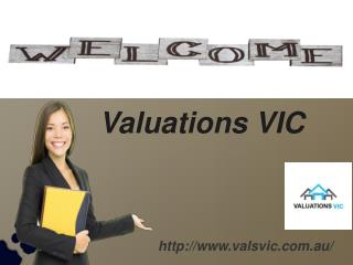 Amazing Property Valuations With Valuations VIC