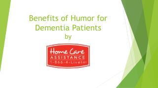 Benefits of Humor for Dementia Patients