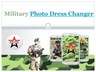 Military Photo Dress Changer