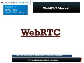 Global WebRTC Market Research