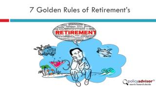 Rules of retirement