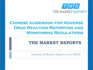Chinese guidebook for Adverse Drug Reaction Reporting and Monitoring Regulations