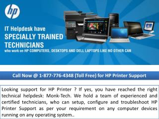 Hp Phone Number  $~1/877/776/4348~| best customer service |monktech