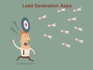 Top Apps features for lead Genertaion