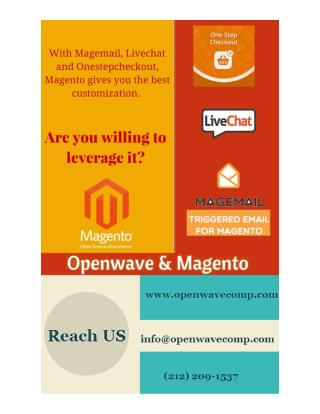 Why you Need to Choose Openwave for Magento Development