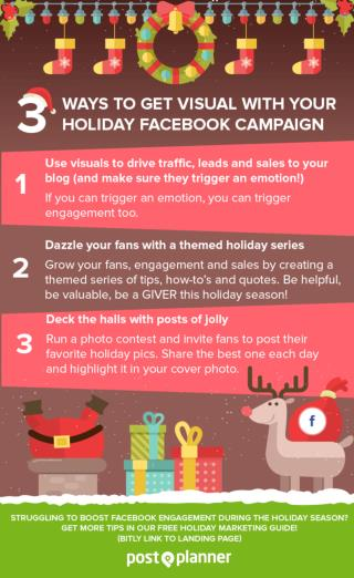 3 Ways to Get Visual With Your Holiday Facebook Campaign
