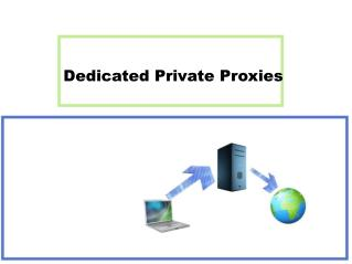 Dedicated Private Proxies