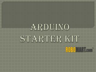 Where to buy Arduino Starter Kit by Robomart