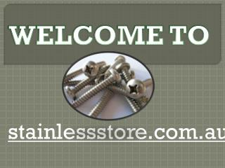 Stainless steel nuts - Stainless steel screws