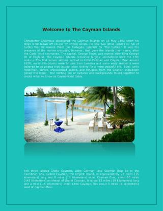 Getting Married in the Cayman Islands (Destination Weddings)
