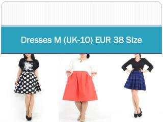 Dresses M (UK-10) EUR 38 Size