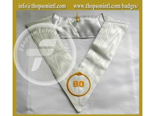 Masonic French rite collar