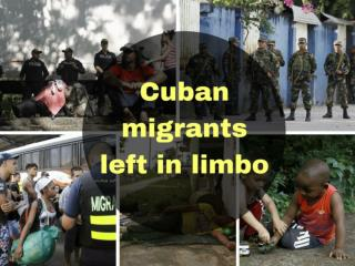 Cuban migrants left in limbo