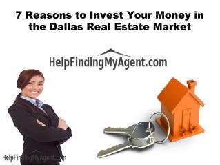 Find Dallas Realtor in few Clicks - Top Real Estate Agents in Dallas